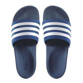 Adidas Adilette CF+ Slide 男 藍 白 氣墊運動拖鞋 籃球員 休閒 防水 防滑 拖鞋 AQ4936