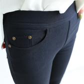 DE shop - 口袋鉚釘小腳內搭褲 - GG-7278