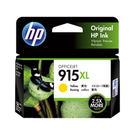 HP 915XL 原廠高印量黃色墨水匣 (3YM21AA) 適用 OJ Pro 8010/8012/8020/8022/8028/8026 AiO