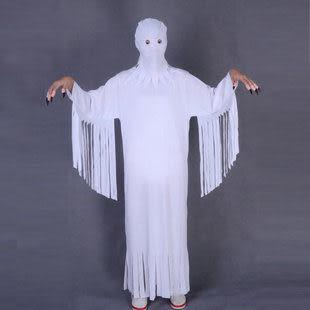 萬聖節服裝-成人/兒童白色319g