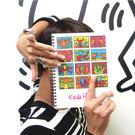 【買一送一】《凱斯哈林特展》12格作品圖環裝筆記本(加贈展覽限定L夾)