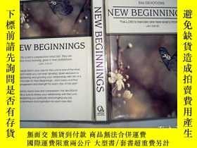 二手書博民逛書店NEW罕見BEGINNINGS、Y198833
