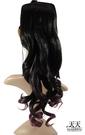 【挑染髮.頭髮增長】綁式(一片)雙染捲假髮片 2TT1716 [32152]