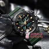 電子錶 手錶男電子手錶初中學生青少年時尚潮流機械防水夜光運動男士手錶 7色