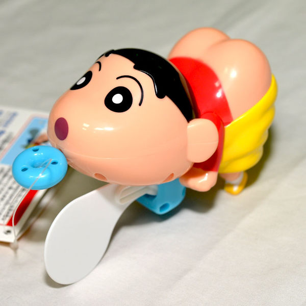 蠟筆小新 游泳的屁屁外星人 可在浴室玩 日本帶回正版品