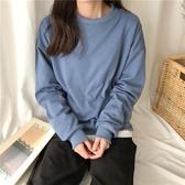 韓系女裝 基本款素色長袖大學T 8色售 【C0430】韓妞必備 阿華有事嗎