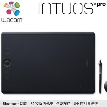 Wacom Intuos Pro Large創意觸控繪圖板(PTH-860/K0-C)