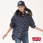 襯衫 女裝  / 圓點印花 / 藍色 - Levis