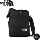 【The North Face 6L斜背包《黑/白》】2SAE/斜背/側背包/休閒背包/通勤/旅遊
