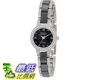 [103美國直購] Armitron NOW Women s 753919BKSV Swarovski Crystal Accented Silver- 女士手錶 $2100