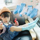 兒童襪子春秋夏季薄款男女寶寶網眼短襪女童襪新生兒襪0-10歲5雙【快速出貨八折優惠】
