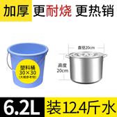 不銹鋼桶圓桶帶蓋湯鍋商用湯桶加厚家用鹵水桶油桶大容量鍋不銹鋼 亞斯藍