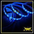 ◤大洋國際電子◢ 5050 18燈白底扁條燈 防水型 30cm (共陽) 24V 藍光 裝飾 氣氛燈 牌照燈 1329-B-30CM