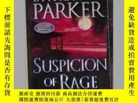 二手書博民逛書店英文原版罕見Suspicion of Rage by Barba