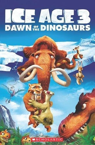 POPCORN READERS : ICE AGE :DANW OF THE DINOSAURS   L3 /書+CD