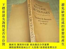 二手書博民逛書店Bernstein s罕見Reverse Dictionary
