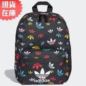 ★現貨在庫★ Adidas BP INF 背包 後背包 休閒 潮流 三葉草 黑 彩【運動世界】FM0281