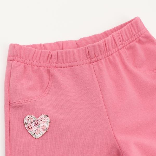 【愛的世界】彈性花仙子鬆緊帶束口長褲/2~4歲-台灣製- ★秋冬下著