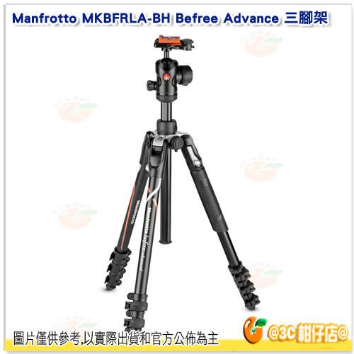 Manfrotto Befree Advance MKBFRLA-BH 三腳架 公司貨 ADV 限SONY用 A9 A7 A73