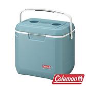 【美國Coleman】26L XTREME 薄霧藍 手提冰箱 CM-38452 冷藏.行動冰箱.露營.野餐.保鮮.保冰