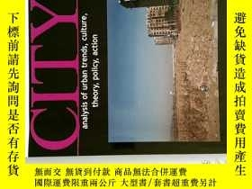二手書博民逛書店CITY罕見analysis of urban trends, culture, theory, policy,
