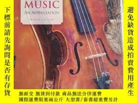 二手書博民逛書店《MUSIC:罕見An Appreciation(Ninth E