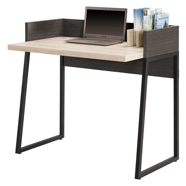 【森可家居】塔利斯3尺書桌 7CM370-2 木心板 工業風 工作桌