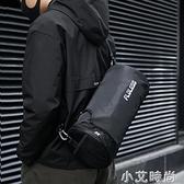 健身包男女小號干濕分離游泳籃球訓練運動房背包斜挎旅行圓筒桶包 小艾新品