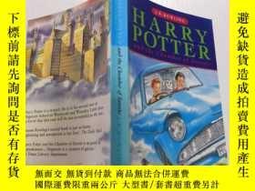 二手書博民逛書店harry罕見potter and the chamber of secreto :哈利波特與密室Y20039