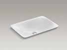 【麗室衛浴】美國 KOHLER 96117T-0活動促銷 CARILLON系列 一體式檯面盆