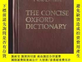 二手書博民逛書店New罕見Edition THE CONCISE OXFORD DICTIONARYY239696 First