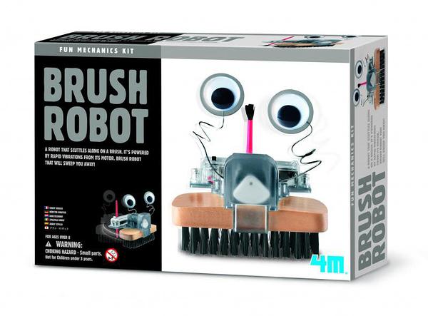 毛刷怪機器人 Brush Robot 好像一個大電動牙刷 Vibrobot