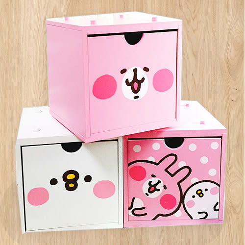 卡娜赫拉疊疊樂積木收納盒抽屜盒雞215573兔215566通販屋
