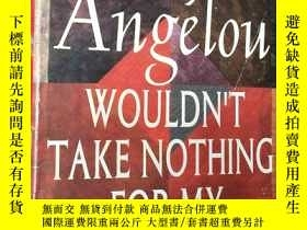 二手書博民逛書店WOULDN T罕見TAKE NOTHING FOR MY JO