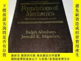 二手書博民逛書店力學基礎罕見第2版Foundations of Mechanic