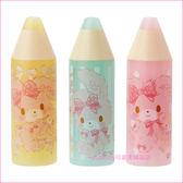 asdfkitty可愛家☆蹦蹦兔蠟筆造型3入鉛筆蓋/鉛筆延長器/鉛筆套/鉛筆帽-日本正版商品