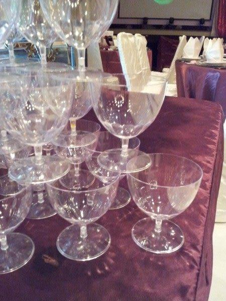 (ya-075)記者會/新品發表會/婚禮會場/活動佈置/5層香檳塔塑膠香檳杯塔1200元