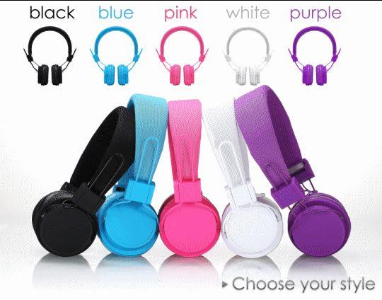 馬卡龍 耳罩式耳機 EX-09i 可拆式設計 適用於各品牌手機使用