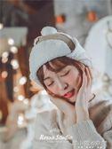 韓版冬季保暖羊羔絨加厚ins雷鋒帽潮款男女飛行帽麂皮滑雪護耳帽      韓小姐