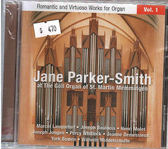 【正版全新CD清倉 4.5折】Romantic & Virtuoso Works - Romantic Parker-Smith*Jane
