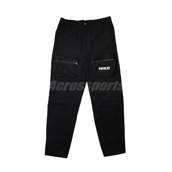 Nike 長褲 NSW City Made Woven Trousers 黑 白 男款 防風 專業 運動休閒 【ACS】 DC6958-010
