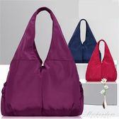 包包女媽咪包多口袋輕便手提包休閒尼龍布包女手提包 黛尼時尚精品