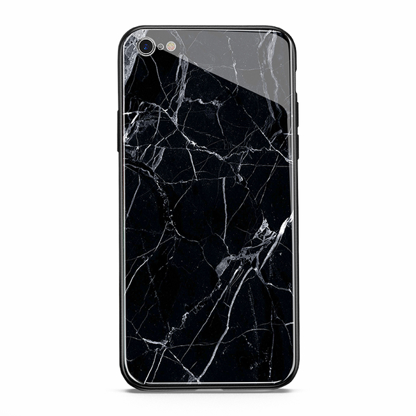 【R】超質感 大理石 鋼化玻璃 背殼 iPhone X XS MAX 手機殼 保護殼 全包邊硬殼