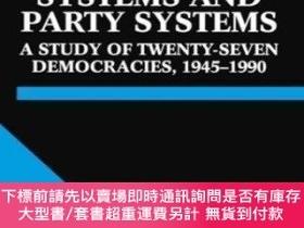 二手書博民逛書店Electoral罕見Systems And Party SystemsY464532 Arend Lijph