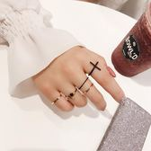 戒指女極細食指戒子尾戒個性學生小指裝飾