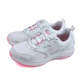 SKECHERS GORUN 運動鞋 女鞋 白/粉 128075WPK no239