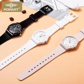手錶女學生原宿風簡約小學生兒童表韓版潮流電子表男防水初中雙12搶購