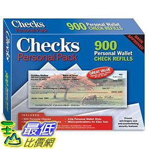 [106美國直購] 2017美國暢銷軟體 Checks - Personal Pack