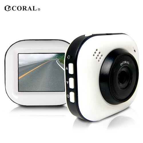 [富廉網]【CORAL】輕巧型 G-Sencer 行車紀錄器 DVR-628P (無附記憶卡)