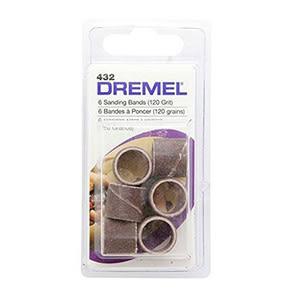Dremel 432 12.7mm 砂布套 120G 6入